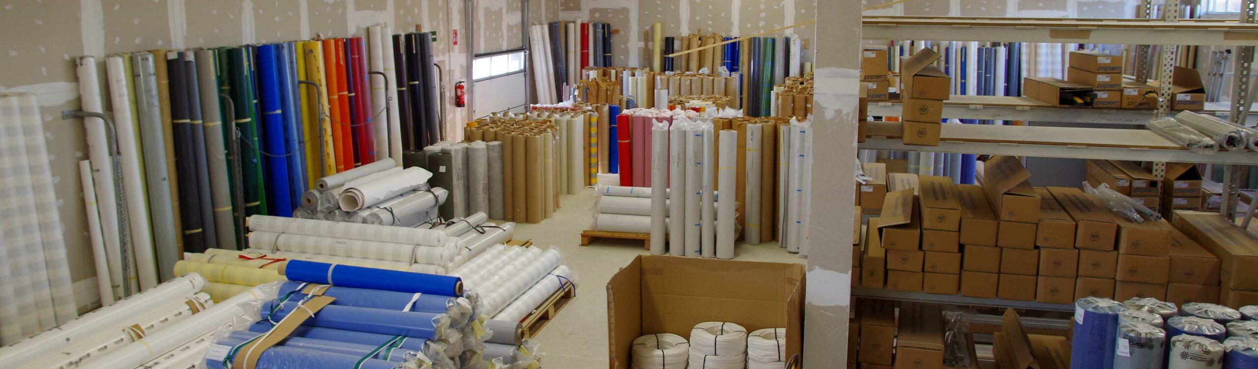 Produktionshalle für Gewebe